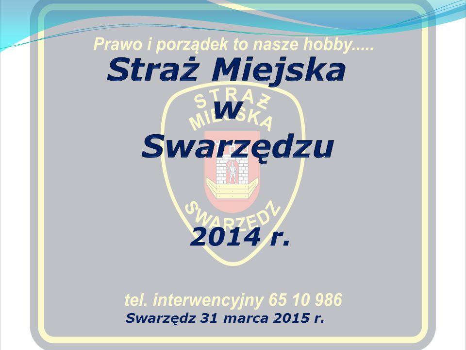 2014 r. Swarzędz 31 marca 2015 r.