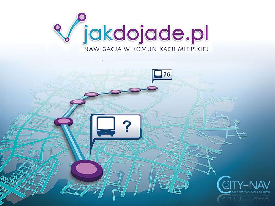 O nas 2006 początki projektu IX 2008 – powstaje CITY-NAV sp.