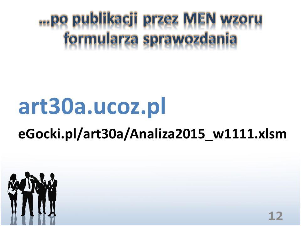 art30a.ucoz.pl eGocki.pl/art30a/Analiza2015_w1111.xlsm 12