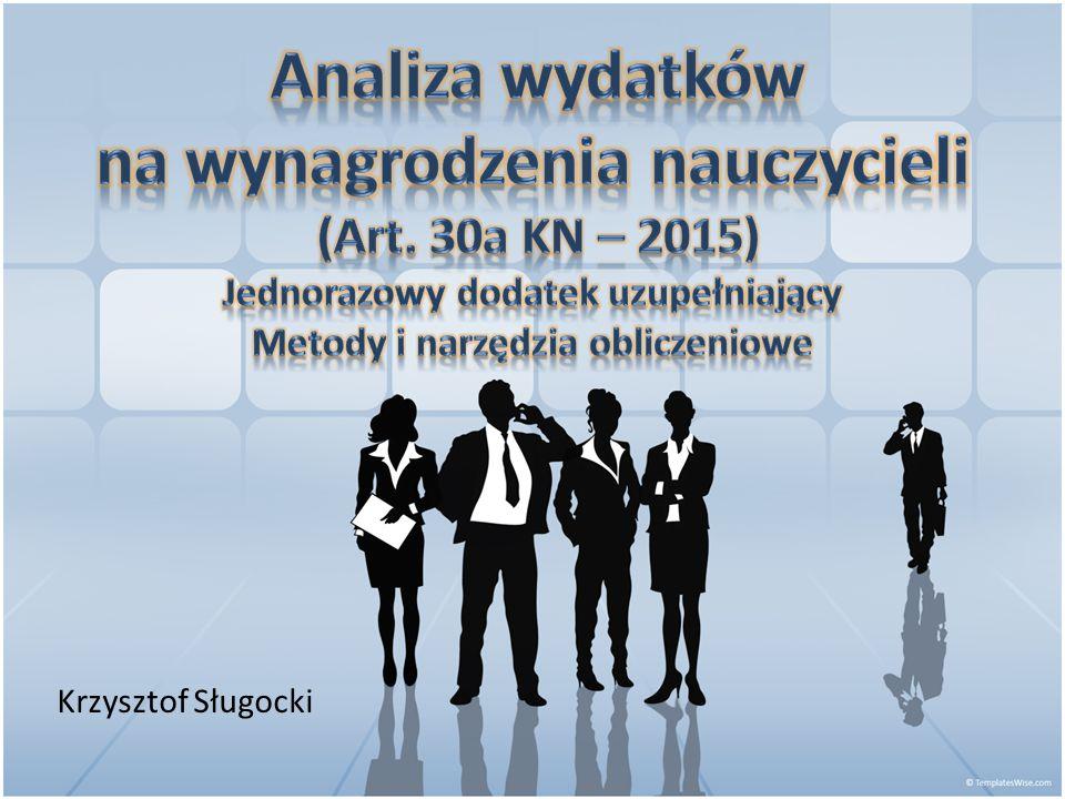 n m  ns  N Obliczenie średniorocznej liczby etatów nauczycieli osiągnie się przez obliczanie miesięcznych struktur zatrudnienia każdego nauczyciela …i pozostaje to zgodne z brzmieniem § 3 rozporządzenia 43