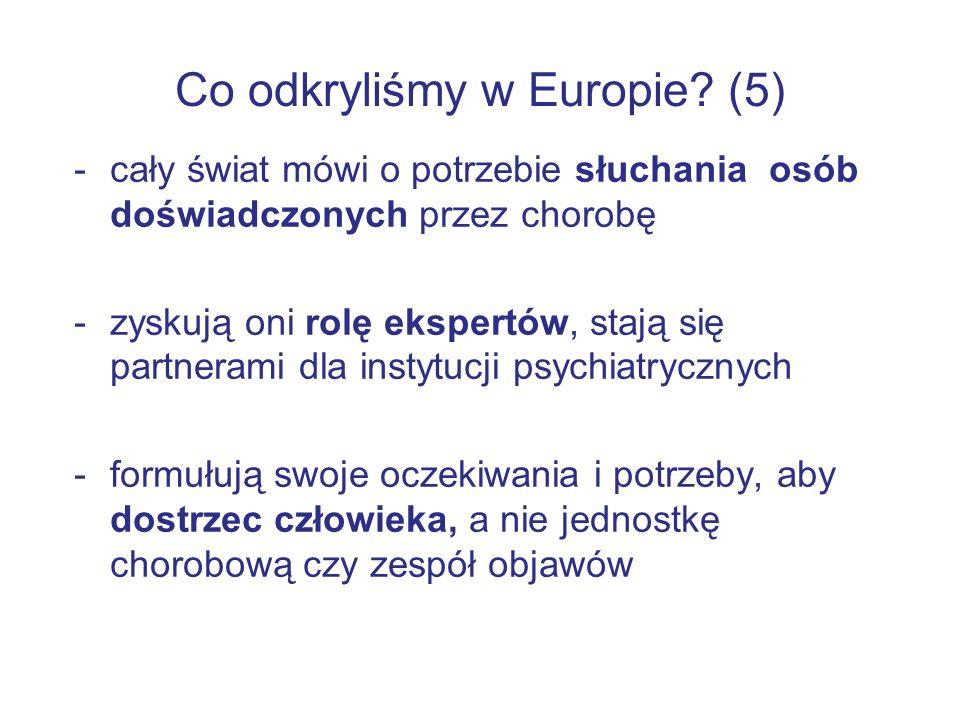 Co odkryliśmy w Europie.