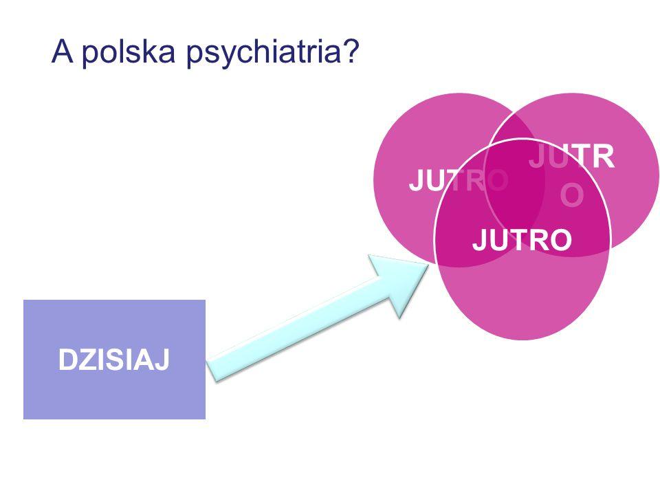 A polska psychiatria? DZISIAJ JUTRO