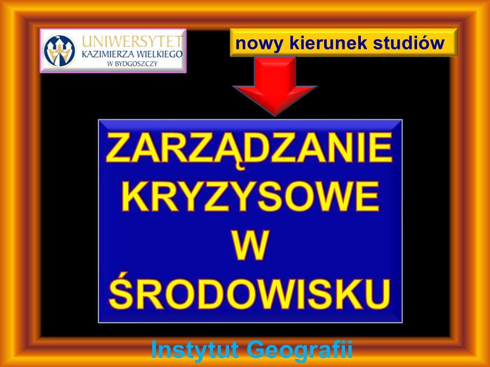 nowy kierunek studiów Instytut Geografii