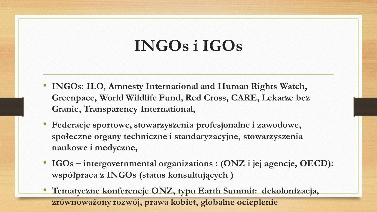 Group of Seven, G7 (G8 z Rosją) * forum polityczno-gospodarcze państw: Wielka Brytania, Francja, Niemcy, Włochy, Japonia, USA, Kanada, Komisja Europejska, Rosja 1997-2014 * kierunek polityki instytucji globalnych: Banku Światowego (WB), Międzynarodowego Funduszu Walutowego (MFW), Światowej Organizacji Handlu (WTO).