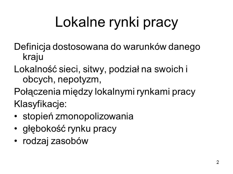 23 Strategie Państwa Polskiego Ujmowanie jako wentyl bezpieczeństwa wobec pewnych grup ) np.