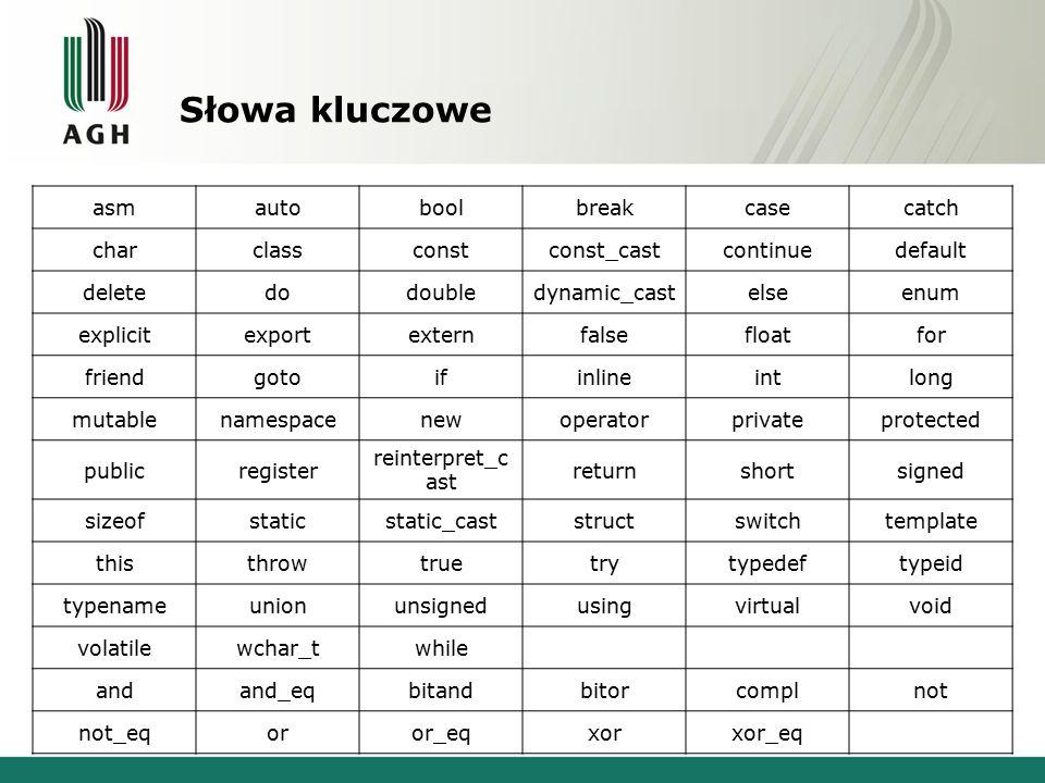 cin #include using namespace std; int main() { int a; cout<< Podaj liczbe <<endl; cin>>a; cout<< Podales liczbe <<a<<endl; } cin – obiekt klasy istream, służy do wprowadzania informacji z klawiatury