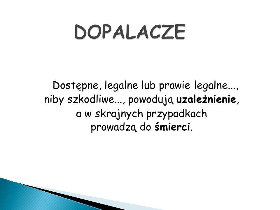 zwróciło uwagę na problem dopalaczy już w sierpniu 2008 roku, kiedy w Łodzi rozpoczął legalną działalność pierwszy w Polsce sklep sprzedający nieznane dotąd szerszemu gronu substancje chemiczne, do tej pory dostępne wyłącznie za pośrednictwem Internetu.
