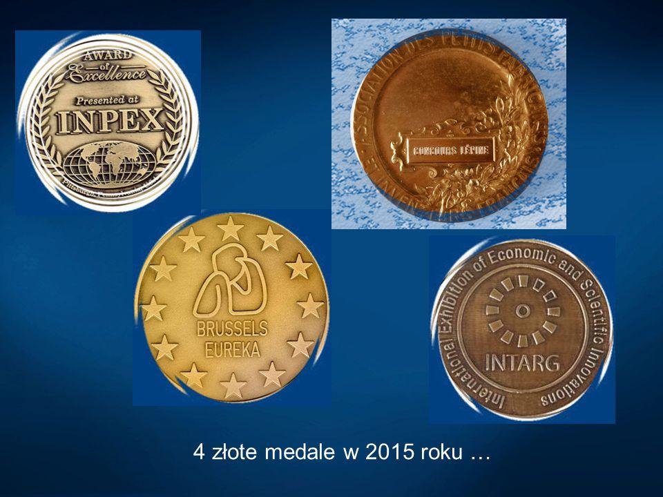 4 złote medale w 2015 roku …