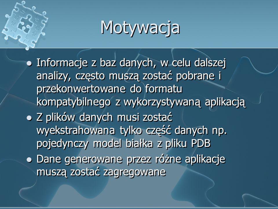 Rodzaje danych biologicznych Sekwencje, np.