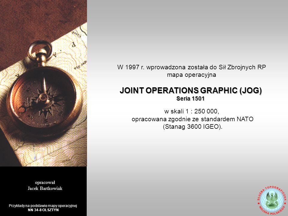 mapa przeznaczona jest do pracy dowódców i sztabów oddziałów, związków taktycznych i operacyjnych w wojskach lądowych, siłach powietrznych i marynarce wojennej.