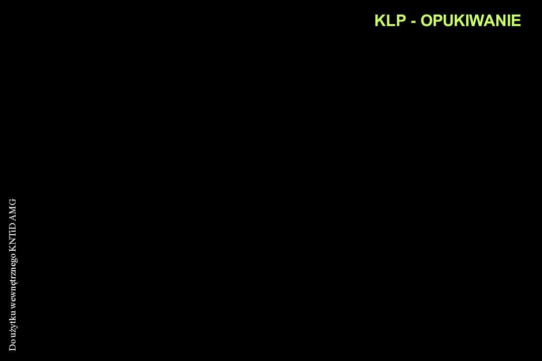 Do użytku wewnętrznego KNTiD AMG KLP - OPUKIWANIE Porównanie stopnia rezonansu w odpowiadających sobie obszarach klp Odgłos opukowy dźwięczny: ponad p