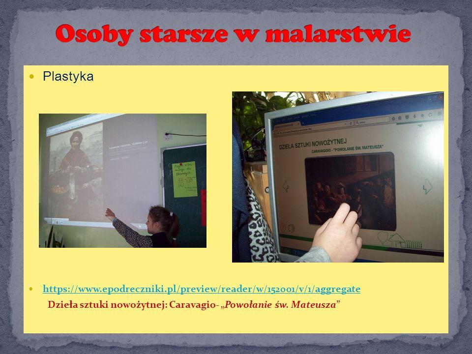 """Plastyka https://www.epodreczniki.pl/preview/reader/w/152001/v/1/aggregate Dzieła sztuki nowożytnej: Caravagio- """"Powołanie św."""