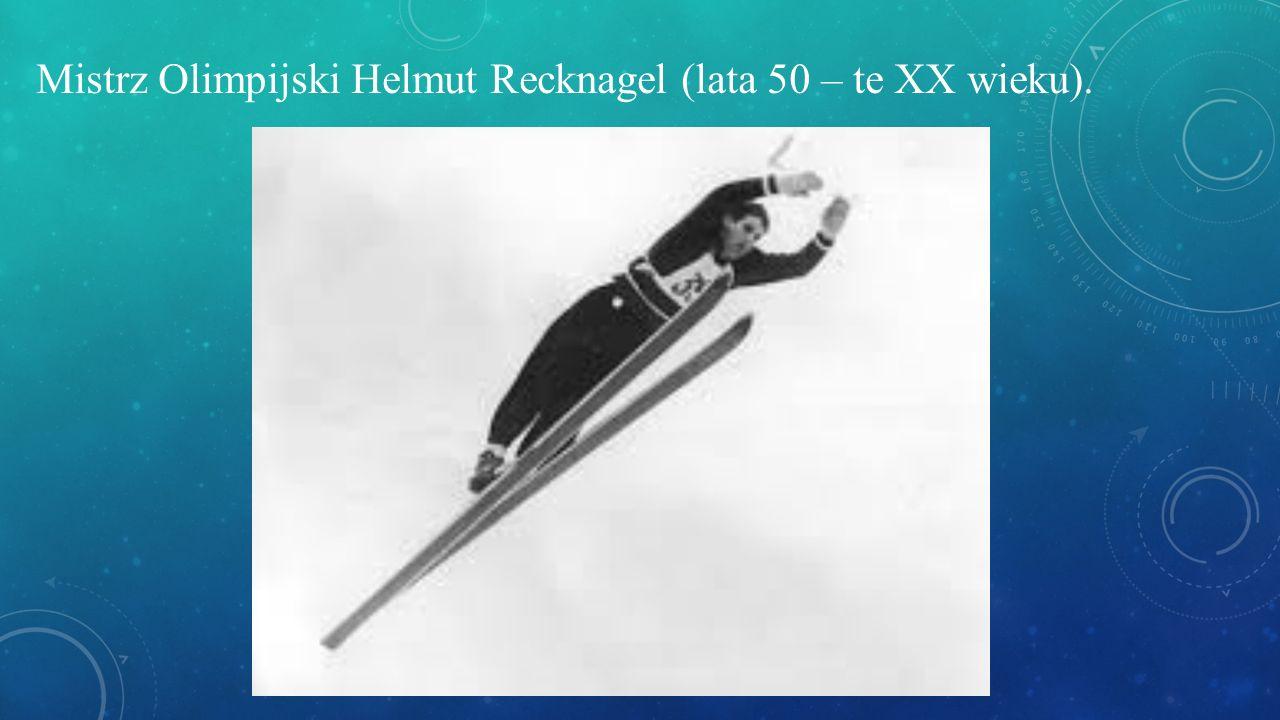 Mistrz Olimpijski Helmut Recknagel (lata 50 – te XX wieku).