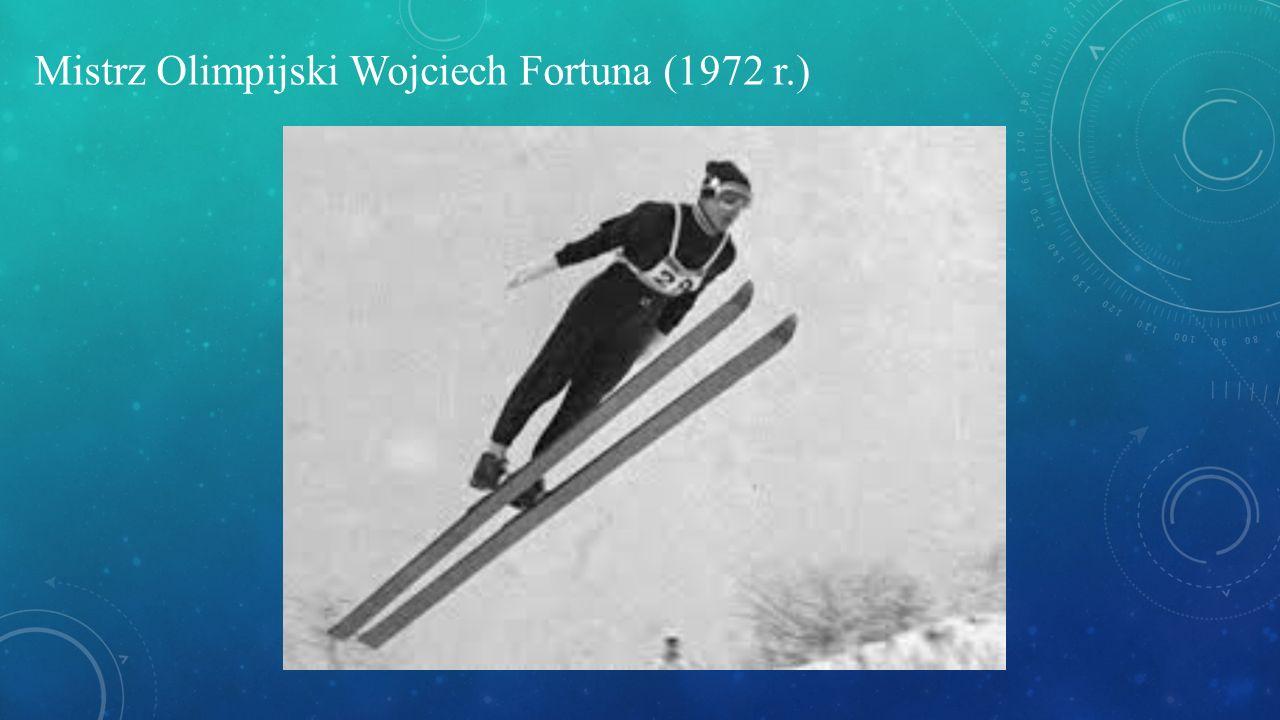 Mistrz Olimpijski Wojciech Fortuna (1972 r.)