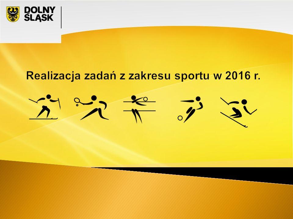 Otwarty konkurs ofert na realizację zadań publicznych z zakresu kultury fizycznej w roku 2016 Ogłoszenie konkursu : 17 listopada 2015 r.