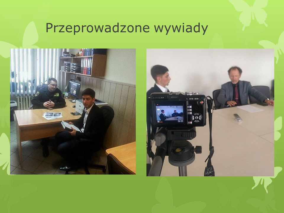 Przeprowadzone wywiady