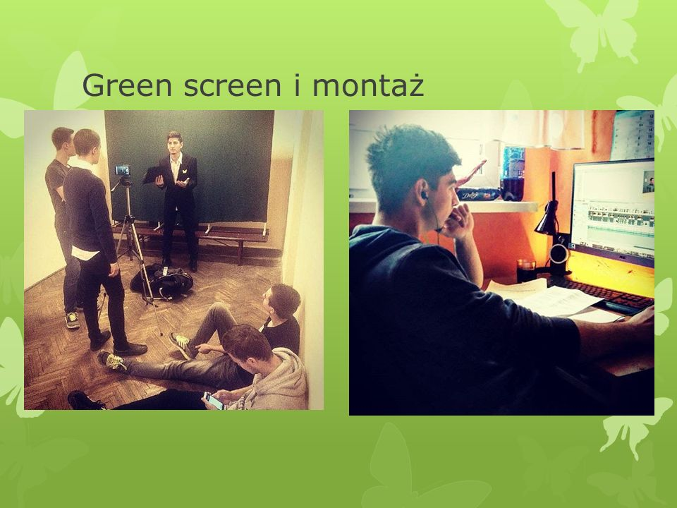 Green screen i montaż