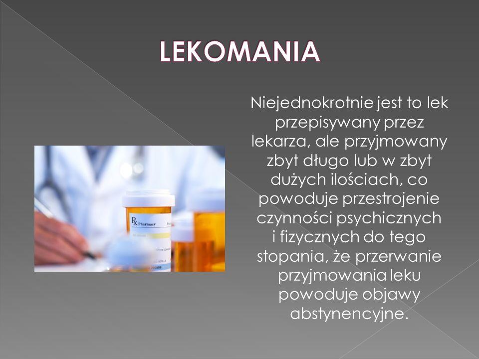 Niejednokrotnie jest to lek przepisywany przez lekarza, ale przyjmowany zbyt długo lub w zbyt dużych ilościach, co powoduje przestrojenie czynności ps