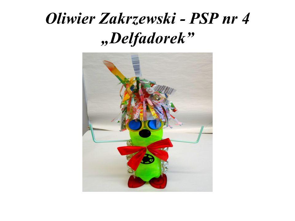 "Oliwier Zakrzewski - PSP nr 4 ""Delfadorek"