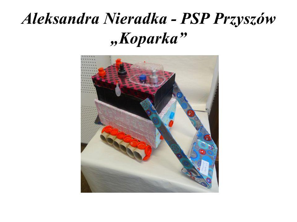 """Aleksandra Nieradka - PSP Przyszów """"Koparka"""""""