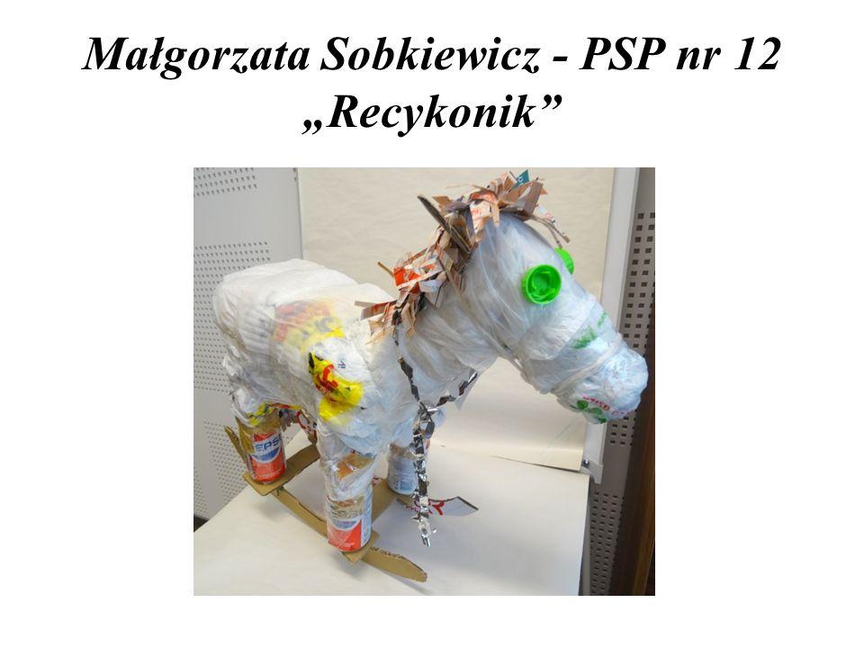 """Małgorzata Sobkiewicz - PSP nr 12 """"Recykonik"""""""