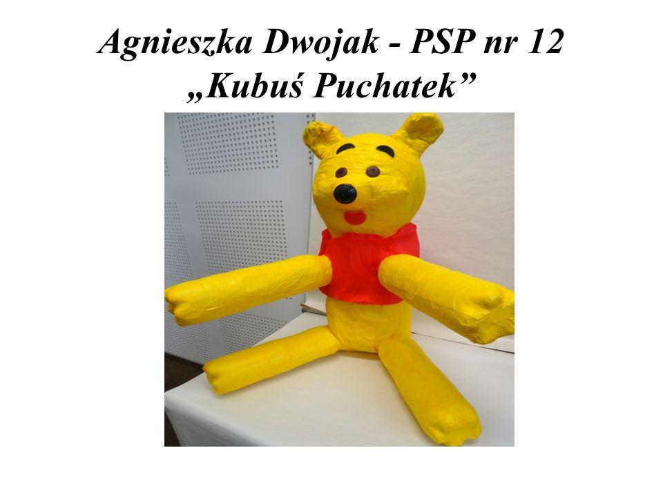"""Agnieszka Dwojak - PSP nr 12 """"Kubuś Puchatek"""""""