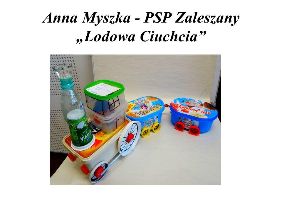 """Anna Myszka - PSP Zaleszany """"Lodowa Ciuchcia"""