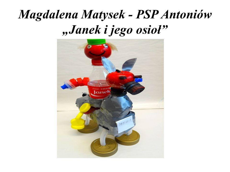 """Magdalena Matysek - PSP Antoniów """"Janek i jego osioł"""""""