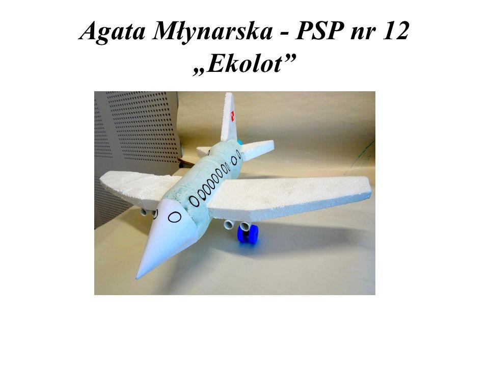 """Agata Młynarska - PSP nr 12 """"Ekolot"""""""