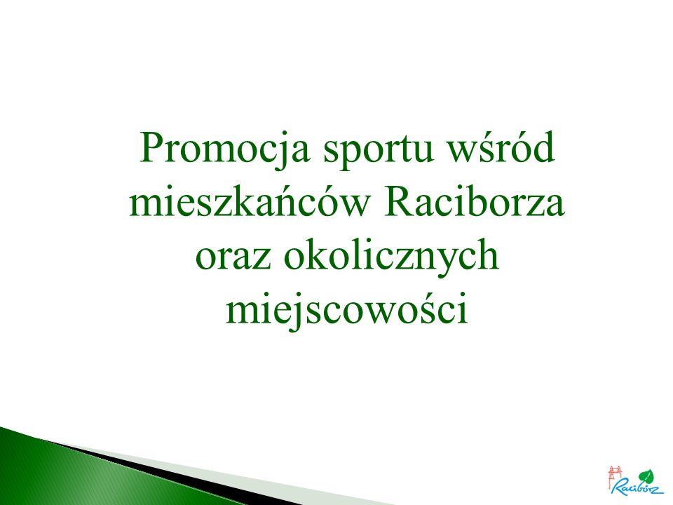 Promocja sportu wśród mieszkańców Raciborza oraz okolicznych miejscowości