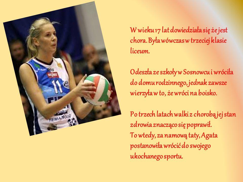 Wstąpiła do drugoligowego klubu z Ostrowca Świętokrzyskiego, gdzie ponownie zaczęła grać w siatkówkę.