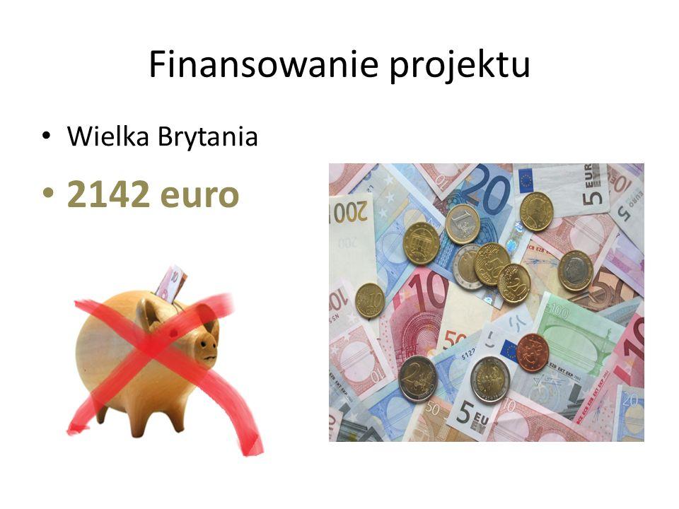 Finansowanie projektu 2142 euro Wielka Brytania