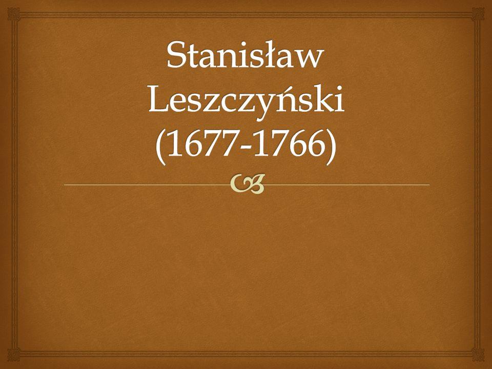 - Urodził się 20 października 1677 r.