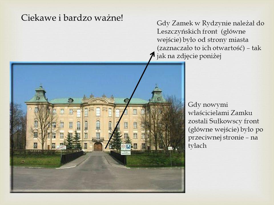 Leszczyńscy w Rydzynie stworzyli piękny park.