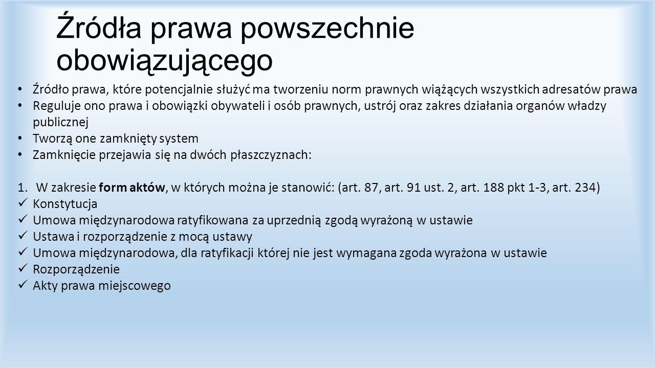2.W zakresie katalogu podmiotów uprawnionych do ich wydawania.
