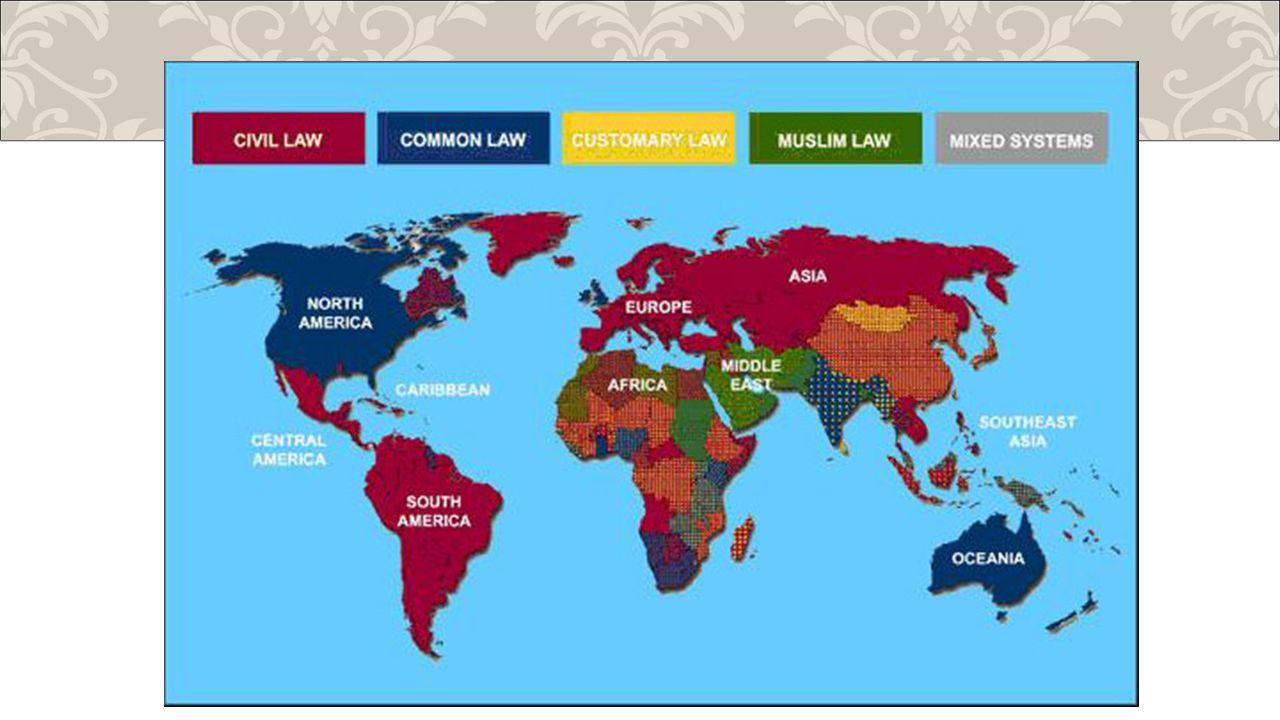 System kontynentalny System kontynentalny – charakteryzuje się formalną koncepcją źródeł prawa.