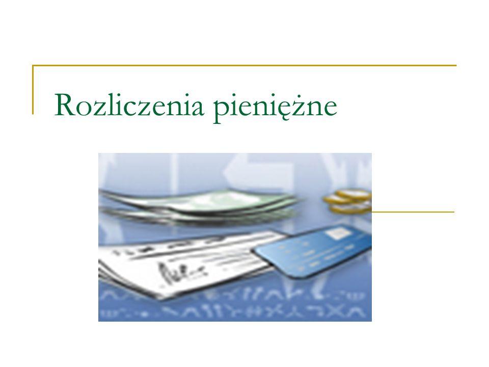 Czek Pisemne polecenie jego wystawcy skierowane do banku, aby ten wypłacił posiadaczowi czeku odpowiednią sumę pieniędzy.