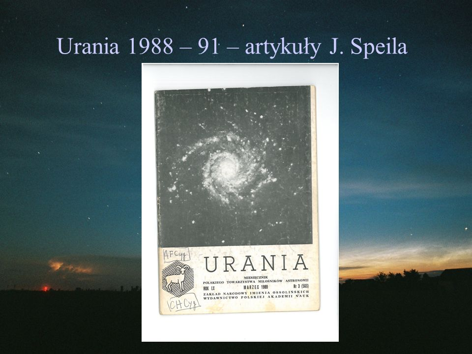 Przykłady gwiazd rekomendowanych przez J. Speila
