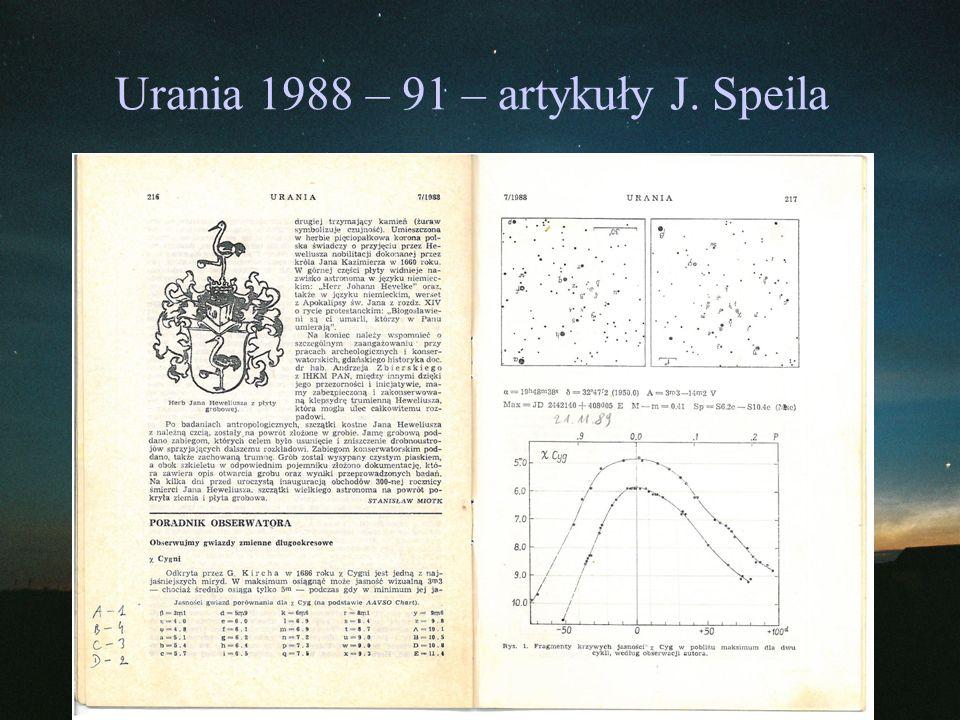 Mira (omicron Ceti) Odkrycie: 1596 ( David Fabricius) Gwiazdozbiór: Wieloryb Współrzędne (J2000): 02 19 20.79 -02 58 39.5 Typ: M Typ widmowy: M5e-M9IIIe Amplituda: 2 - 10.1 V Okres: 331.96 Jasność absolutna: Odległość: ~300 ly (~90 pc)