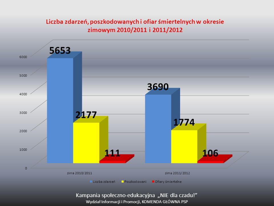 """Kampania społeczno-edukacyjna """"NIE dla czadu!"""" Wydział Informacji i Promocji, KOMENDA GŁÓWNA PSP"""