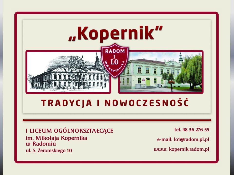 I Liceum Ogólnokształcące im. Mikołaja Kopernika w Radomiu - Mariusz Wesołowski i Małgorzata Król 90