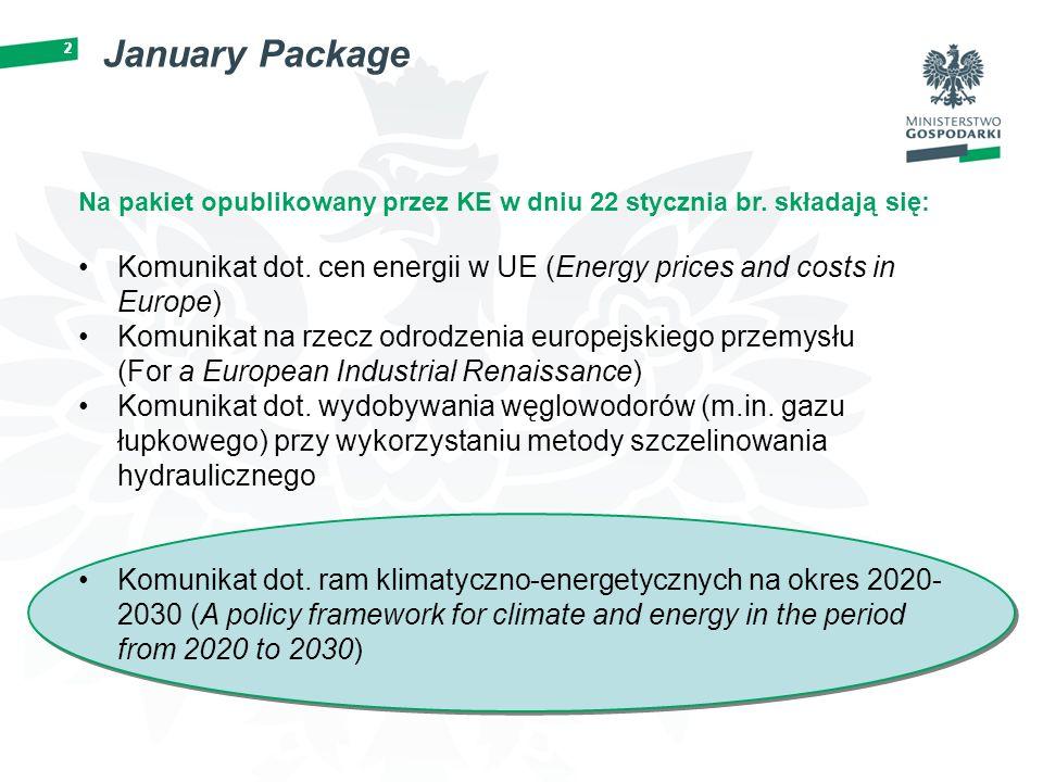 2 January Package 2 Na pakiet opublikowany przez KE w dniu 22 stycznia br.