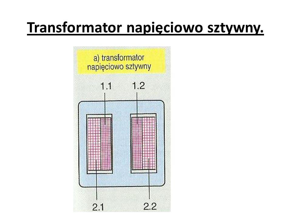 Stosunek mocy oddawanej P 2 do mocy pobieranej P 1 nazywa się sprawnością transformatora.