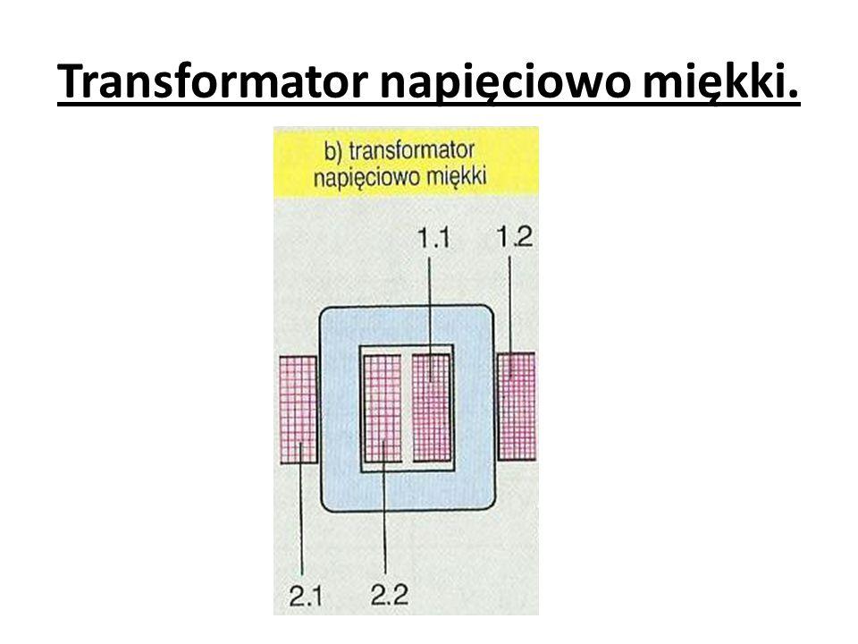 Podczas pomiaru napięcia zwarcia przy zwartym uzwojeniu wtórnym, już przy bardzo małym napięciu wejściowym, płyną w uzwojeniach prądy znamionowe.