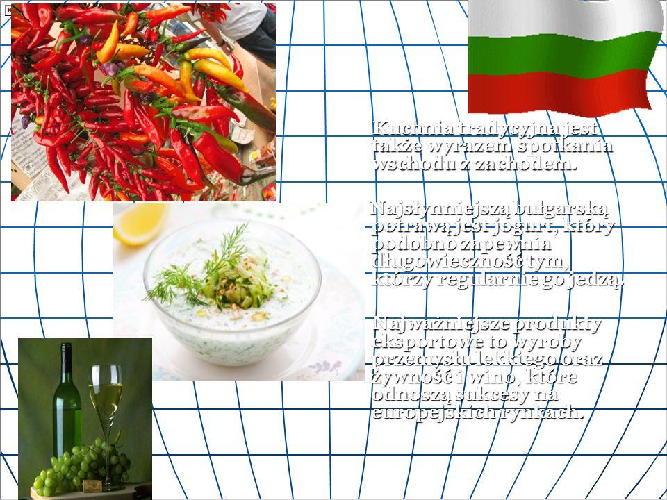 Kuchnia tradycyjna jest także wyrazem spotkania wschodu z zachodem.