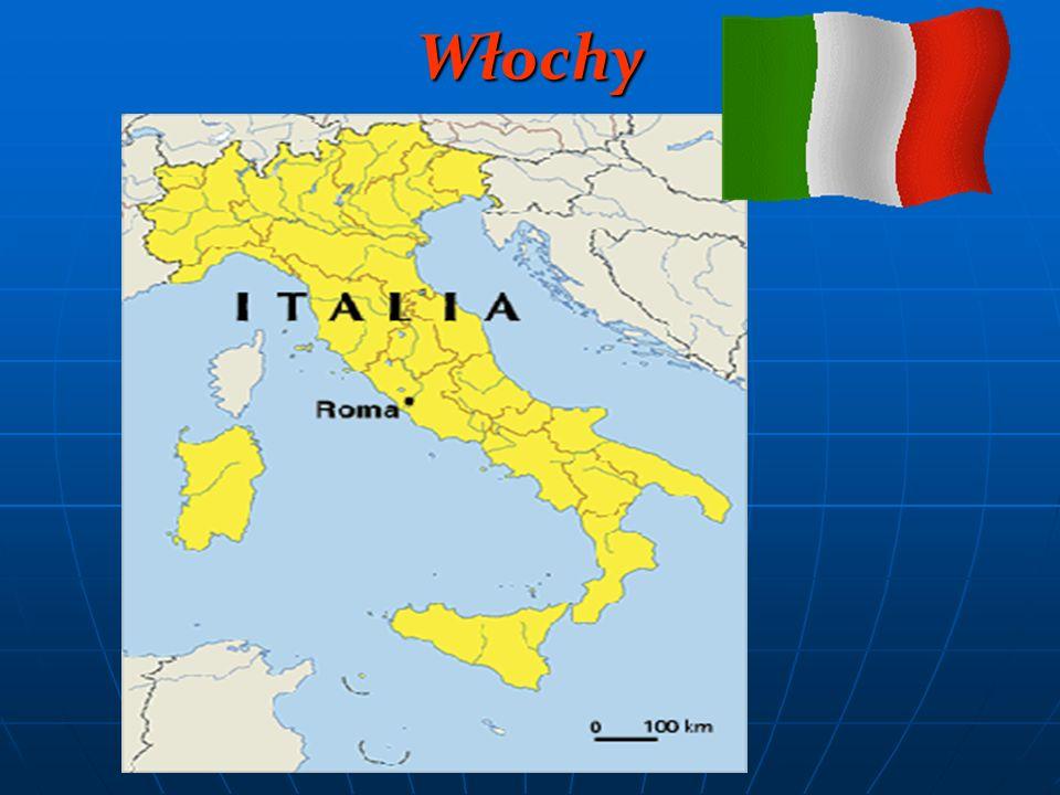 Stolica: Rzym Powierzchnia: 301 263 km² Liczba mieszkańców: 60 mln Waluta: Członek strefy euro od 1999 r.