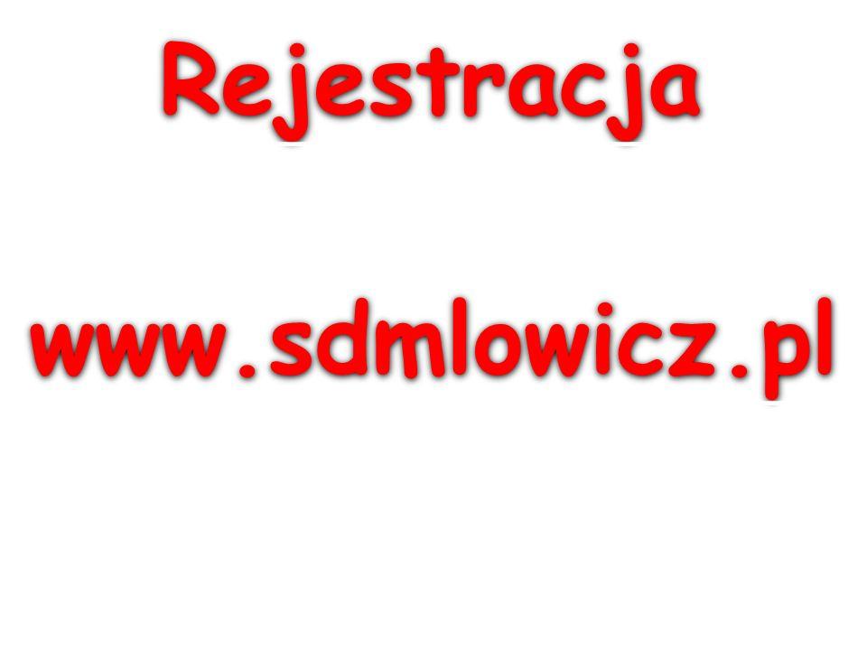 Rejestracja www.sdmlowicz.pl