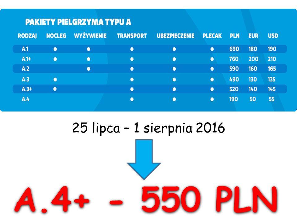 """A.4+ """"Pakiet Łowicki cz.I (190 PLN) A.4+ """"Pakiet Łowicki cz."""
