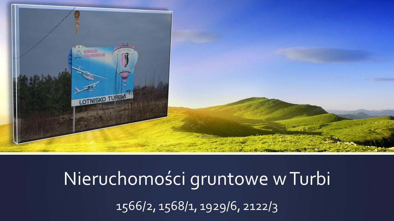 Nieruchomości gruntowe w Turbi 1566/2, 1568/1, 1929/6, 2122/3