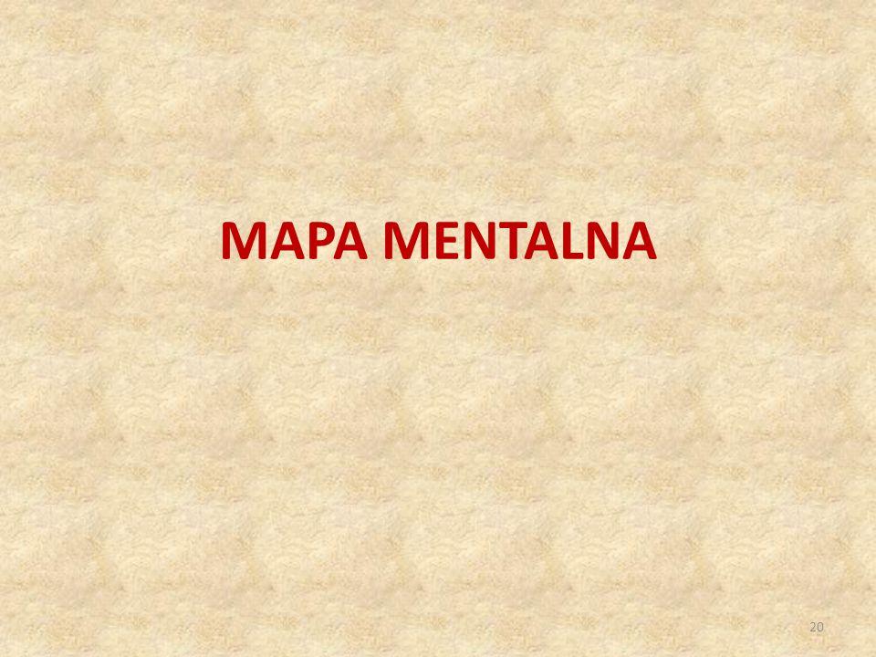MAPA MENTALNA 20